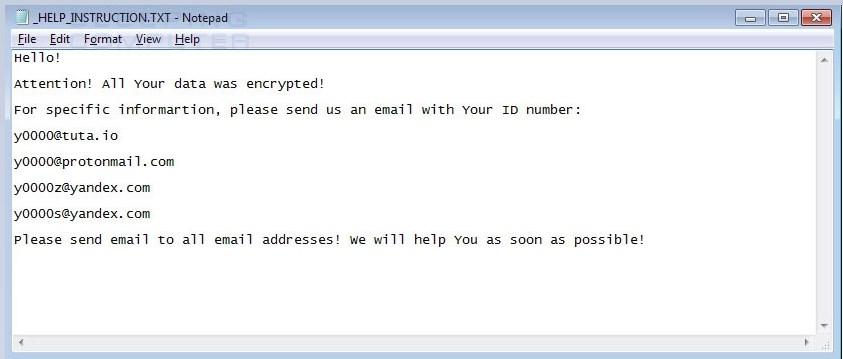 0000 CryptoMix  nuevo ransomware